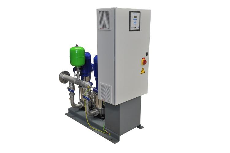 Hydro-Unit Utility Line drukverhogingsinstallatie