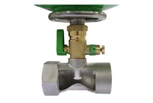 100% doorstromende leidingen van de hydrofoor; Legionellaveilig