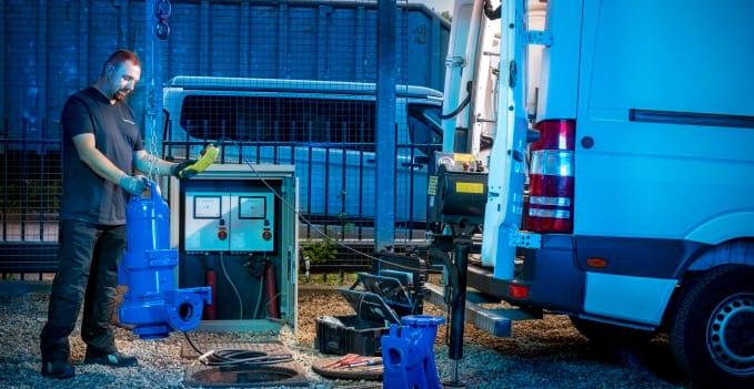 onderhoud hydrofoor en afvalwaterpompen