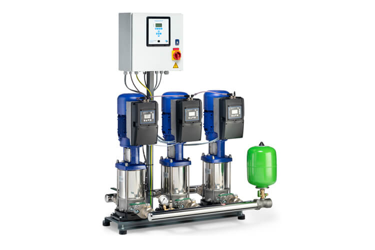 DP-Pumps - tailor made pump solutions - Water boosters for