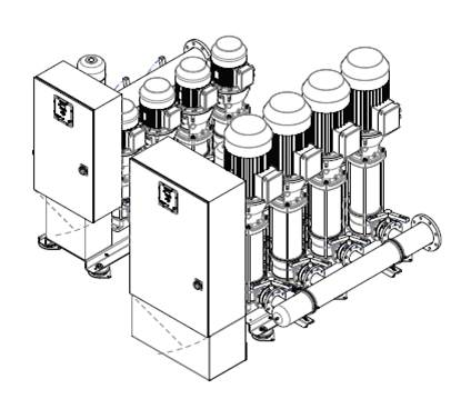 The Utility Line booster system is made in Holland to meet your specifications