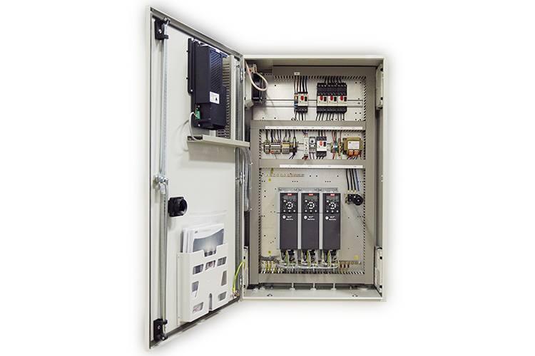 custom pump control system