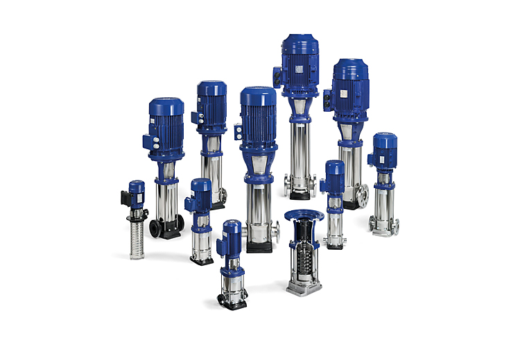 Roestvaststalen proceswaterpompen