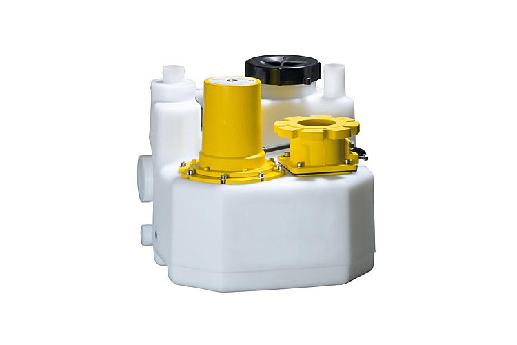 Compacte afvalwaterinstallaties