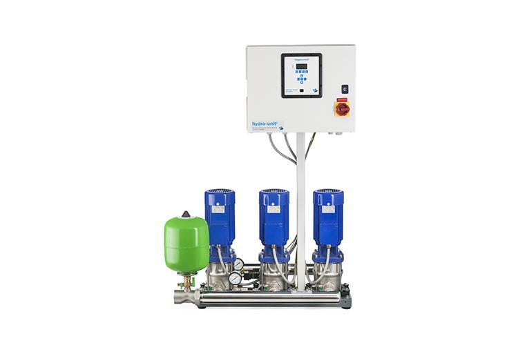 Energiezuinige drukverhogingsinstallaties